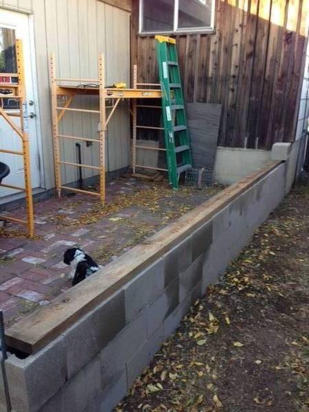 construct kneewall