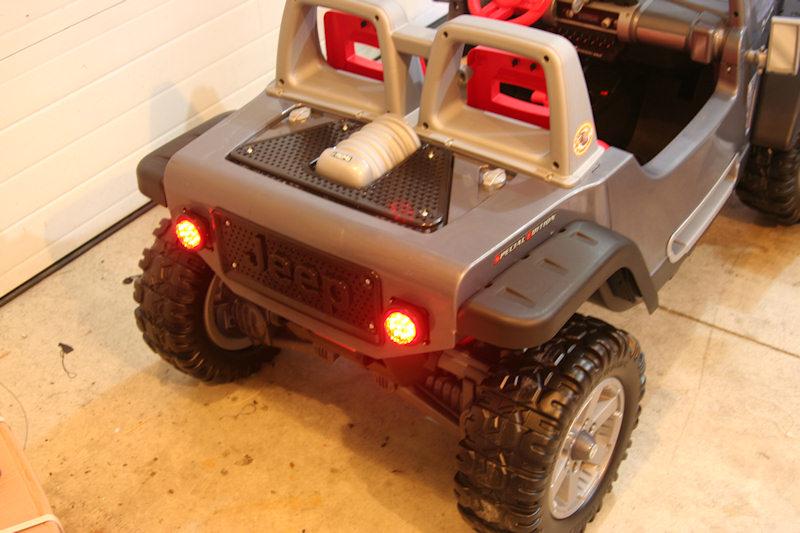 Modified Power Wheels - Jeep Hurricane - lights needed