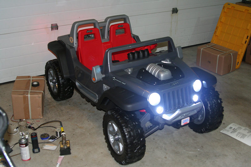 Gallery For > Modified Power Wheels Jeep Hurricane